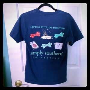 Simply southern short sleeve tee